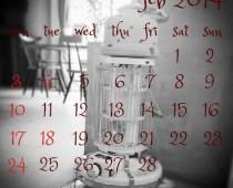 2014年2月の営業日