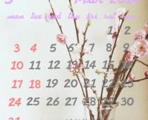 2014年3月の営業日