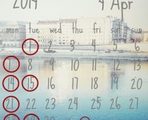 2014年4月の営業日