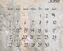 2018年6月の営業日